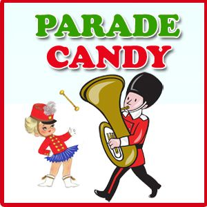 Christmas Parade Candy Selections