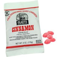 Claey's Cinnamon Old Fashion Hard Candies 6oz Bag