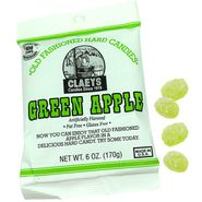 Claey's Green Apple Old Fashion Hard Candies 6oz Bag