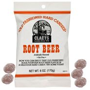 Claey's Root Beer Sanded Hard Candies 6oz bag