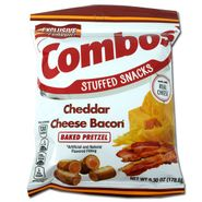 Combo's Cheddar Bacon Pretzel 6.3oz Bag