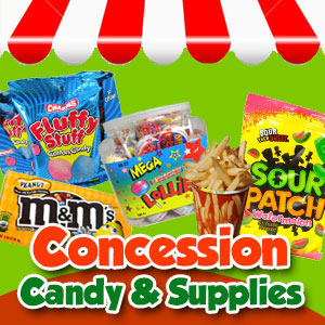 Concession Candy | Wholesale Summer Candy and Snacks