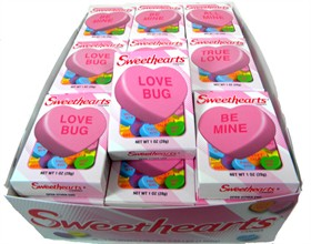 Conversation Hearts Candy Sayings: Then And Now