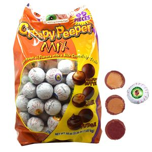 Creepy Peepers Chocolate Peanut Butter Eyeballs 38oz (66)