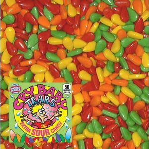 Cry Baby Candy Coated Tears 25.5lbs Bulk