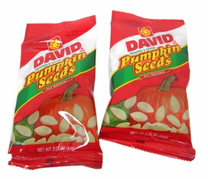 David's Pumpkin Seeds 12 Bags