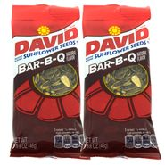 David Sunflower Seeds 12ct - BBQ