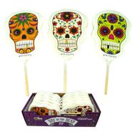 Day Of The Dead Lollipops 12 Count