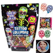 Day Of The Dead Tattoo Pops 70 Count