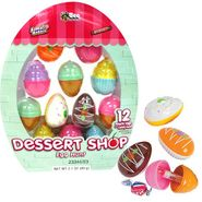 Dessert Shop Eggs Filled With Candy 12 Count