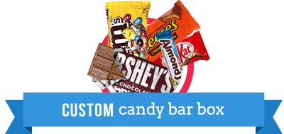 Custom Candy Bar Box