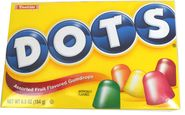 Dots Gumdrop Candy 6.5oz Box