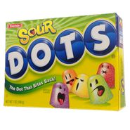 Dots Sour Candy Theater Size 7oz