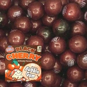 Dubble Bubble Black Cherry Gumballs 850 Count Bulk