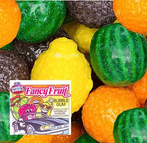 Dubble Bubble Fancy Fruit Gumballs 850 Count Bulk
