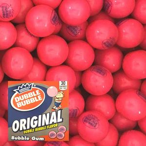 Dubble Bubble Original 1928 Gumballs 850 Count Bulk