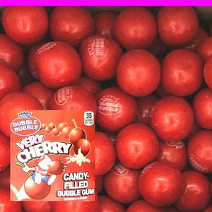 Dubble Bubble Very Cherry Gumballs 850 Count