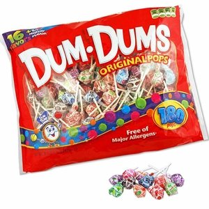 Dum Dums 180 Count Bag
