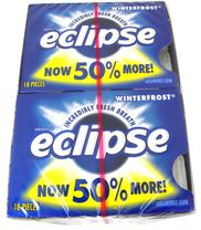 Eclipse Sugarless Gum 8ct - Winter Frost