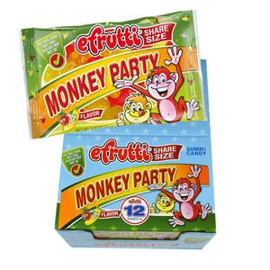 eFrutti Gummi Monkey Party 12 Count Share A Size