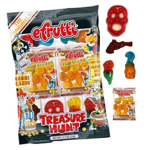 efrutti Gummi Pirate Treasure Hunt Candy
