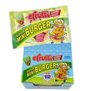 eFrutti Sour Mini Burgers 12 Count Share A Size