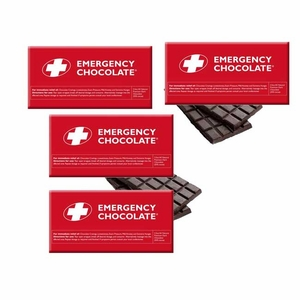 Emergency Dark Chocolate Bars 3oz 10 Count