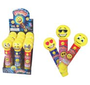 Emoji Light Up Lollipop 12 Count