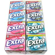 Extra Sugarfree Gum Slim Pack  10pk - Choose Flavor