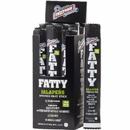 Fatty's Smoked Meat Snacks Jalapeno 20 Count