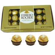 Ferrero Rocher Holiday Gift 18 Count Box