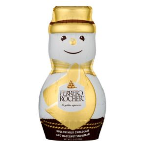 Ferrero Rocher Hollow Chocolate Snowman 3.1oz