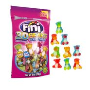 Fini 3D Gummy Bears 6oz Bag