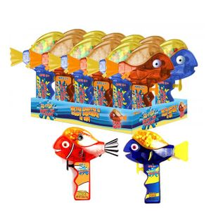 Fish Squirt Gun & Candy 12 Count