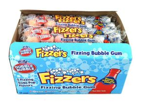 Fizzers Bubble Gum 24 Count