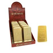 Fort Knox Gold Chocolate Bars 40 Count