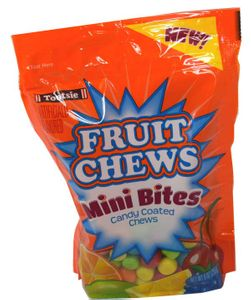 Fruit Chews Mini Bites 9oz Bag