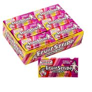 Fruit Stripe Bubble Gum Jumbo 12 Count
