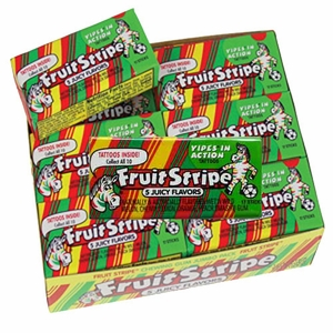 Fruit Stripe Gum Jumbo 12ct