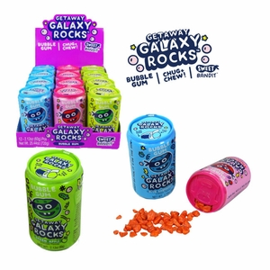 Galaxy Rocks Candy Of Gum 12 Count