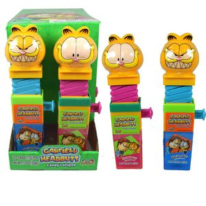 Garfield Headbutt Candy Lollipop 12 Count