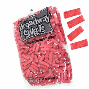 Gerrit Broadway Licorice Sticks Strawberry 2.2lb