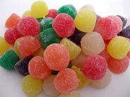 Giant Fruit Gum Drops 2lbs Assorted Colors