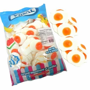 Giant Gummi Fried Eggs 86 Count
