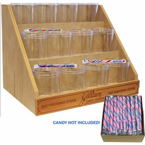 Gilliam Stick Rack & 12 Jar Dispenser