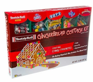 Gingerbread Cottage Kit  By Tootsie Roll