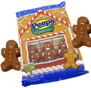 Gingerbread Men Peeps 6 Count