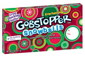Gobstopper Snowballs 5oz Box
