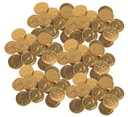 Gold Coins Chocolate Quarters 24lb Bulk