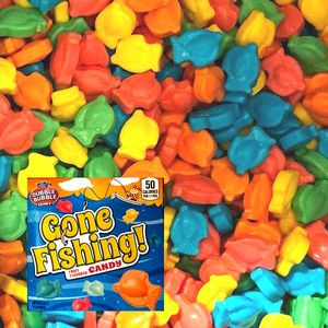 Gone Fishing Mini Candies 23.59lbs Bulk